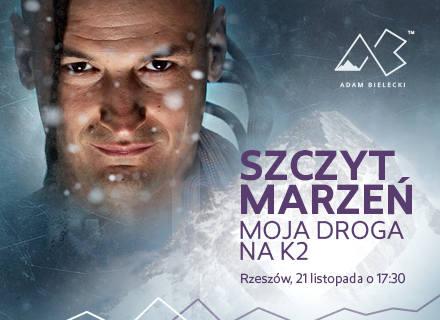 Adam Bielecki 21 listopada przyjedzie do Rzeszowa. Przyjdź na spotkanie z himalaistą