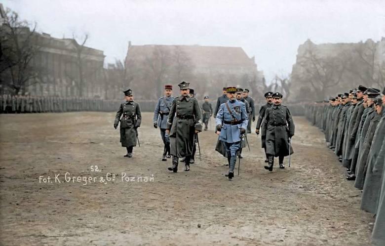 W Poznaniu pojawili się oficerowie zwycięskich mocarstw z międzysojuszniczą misją