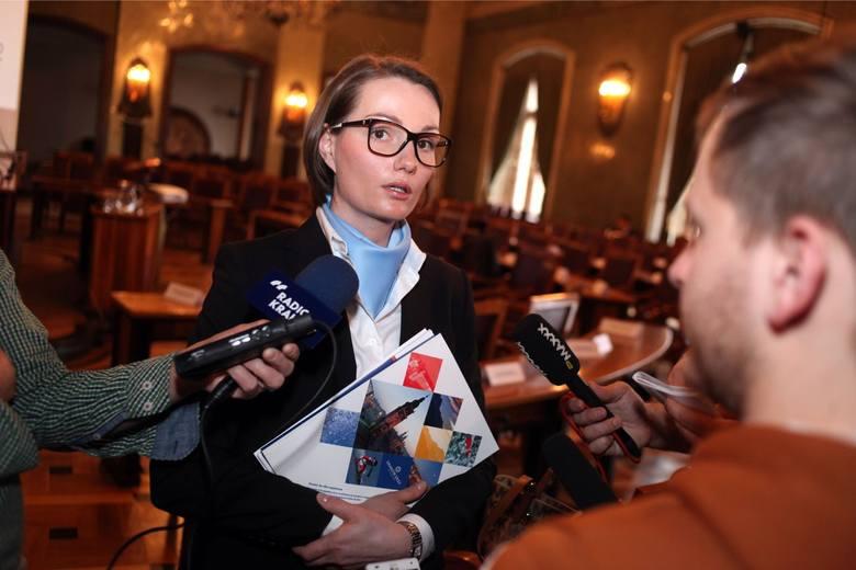"""2012 r. - Pierwsza koncepcja Projektu """"Kraków – Zimowe Igrzyska Olimpijskie 2022"""". Autorzy projektu ZIO 2022: posłanka na Sejm Jagna Marczułajtis-Walczak"""