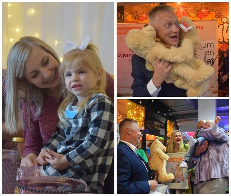 Stworzyliśmy wielką galerię dziecięcych uśmiechów! Najbardziej urocze maluchy z całego województwa zaprosiliśmy do bajkowej Fabryki Misia, by wręczyć