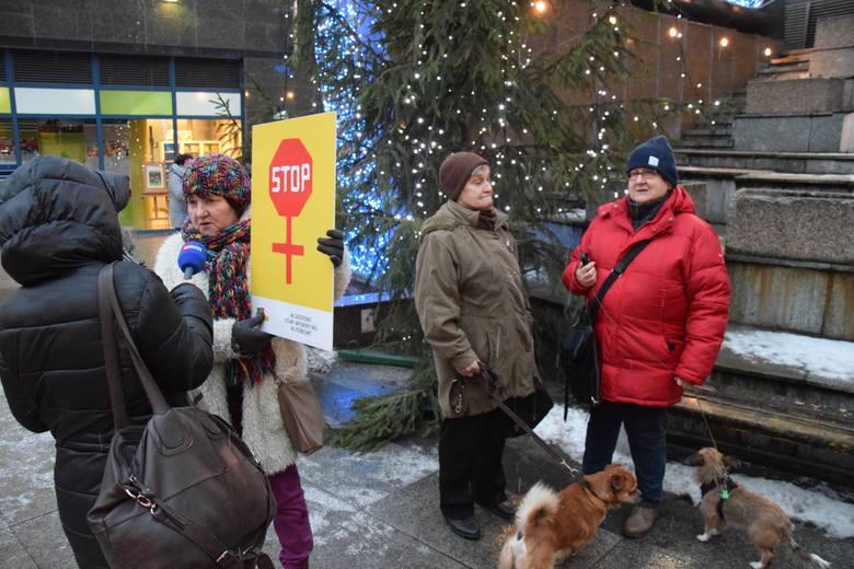 Czarny Protest w Sosnowcu