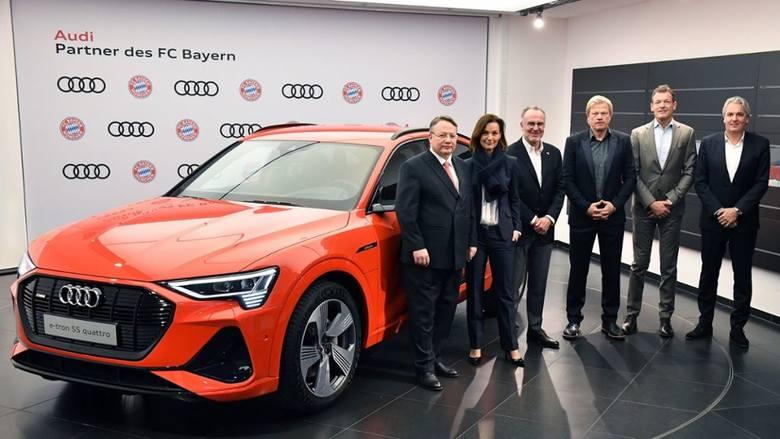 Obok T-Mobile, Adidasa i Allianz to właśnie Audi jest najważniejszym sponsorem Bayernu - już od 17 lat. Na umowie korzystają piłkarze, którzy w zamian