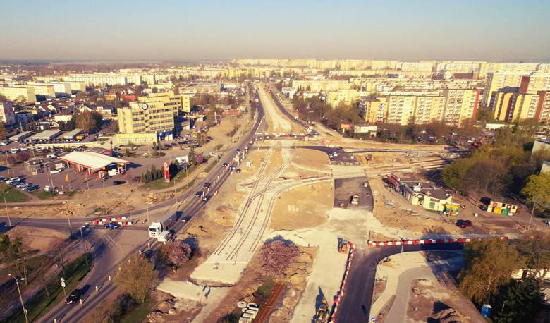 Trwa przebudowa węzła na skrzyżowaniu ulic Wojska Polskiego, Szarych Szeregów i Szpitalnej w Bydgoszczy. Prace w tym miejscu wiążą się ze sporymi utrudnieniami