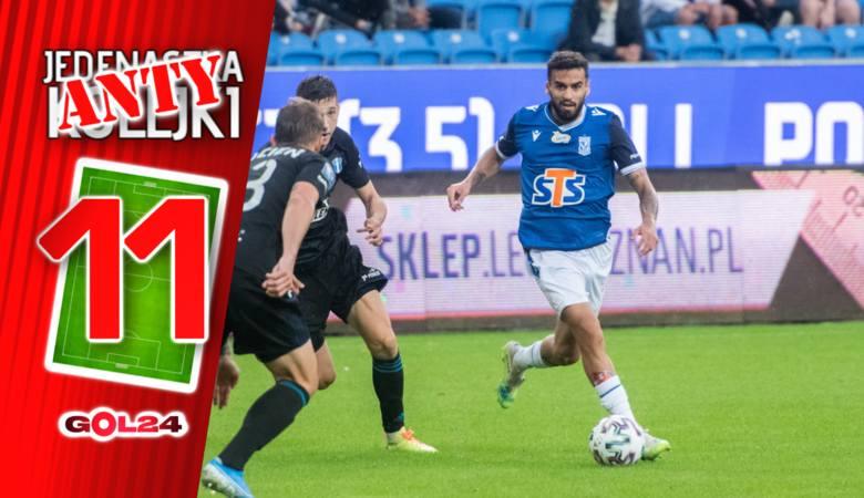 PKO Ekstraklasa. Nie rozpieszczali nas piłkarze polskiej ligi w ten weekend. W ośmiu meczach padło zaledwie 10 goli, większość z nich tylko dlatego,