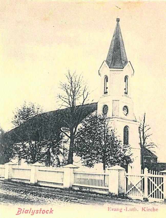 Parafia ewangelicka w Białymstoku w XIX-XX wieku