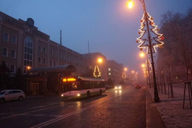 Mgła w Białymstoku