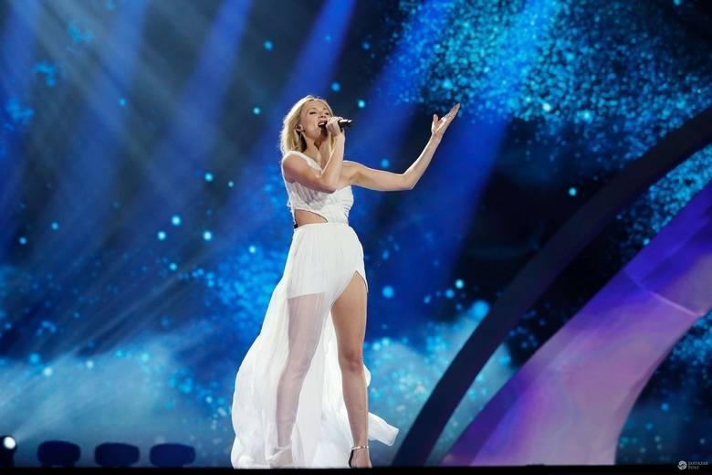 Kasia Moś na Eurowizji zaśpiewała najlepiej jak potrafiła. 22 miejsce nie jest szczytem marzeń