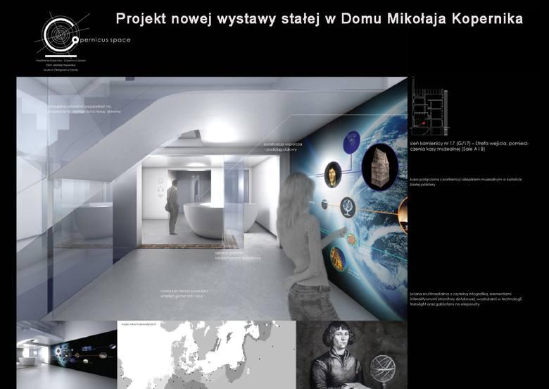 Co się zmieni w Domu Kopernika? Zobaczcie wizualizacje.