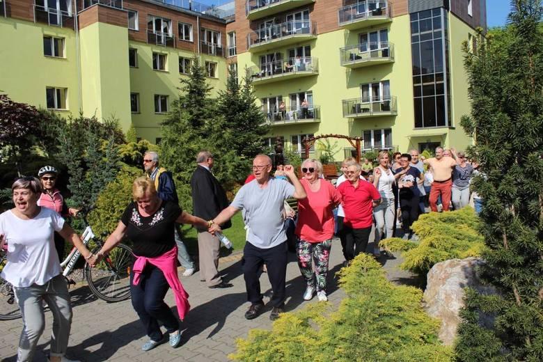 W ramach Dni Otwartych Funduszy Europejskich inowrocławskie Sanatorium Przy Tężni w miniony weekend zaprosiło kuracjuszy i mieszkańców miasta na cykl