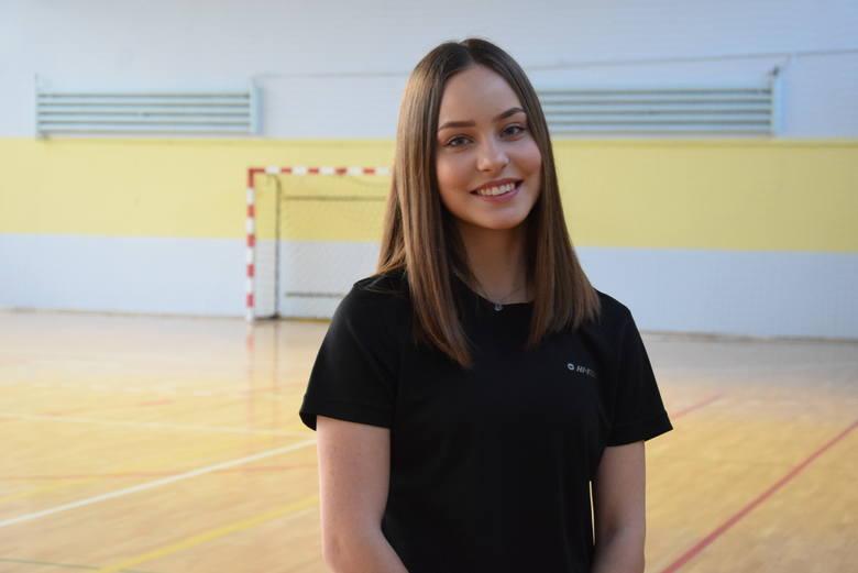 Kornelia Lesiewicz - trening jej i lekkoatletów AZS AWF Gorzów