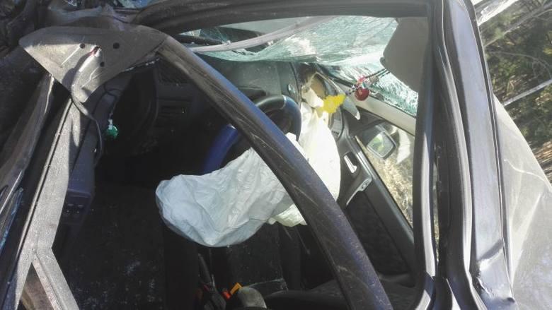 Tragiczny wypadek w Siarczej Łące w Kadzidle, na DK 53. Jest ofiara śmiertelna