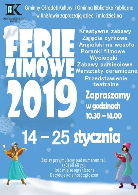 Ferie 2019 w Kujawsko-Pomorskiem ruszają. Co organizują gminy?