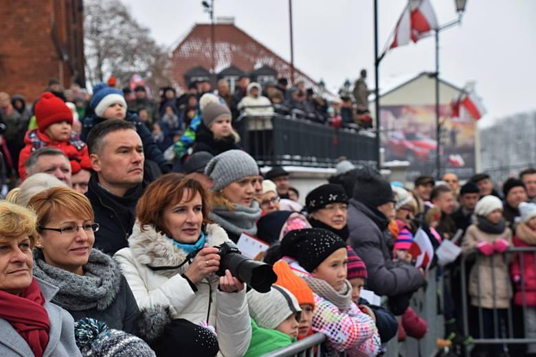 Uroczystości na Rynku Kościuszki w Święto Niepodległości