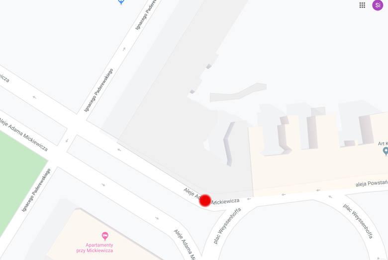 Zderzenie przy pl. Weyssenhoffa w Bydgoszczy [zdjęcia - 8.11.2019 r.]