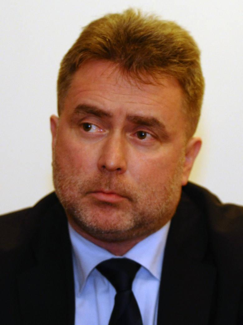 Wiceprezydent Łodzi Marek Cieślak