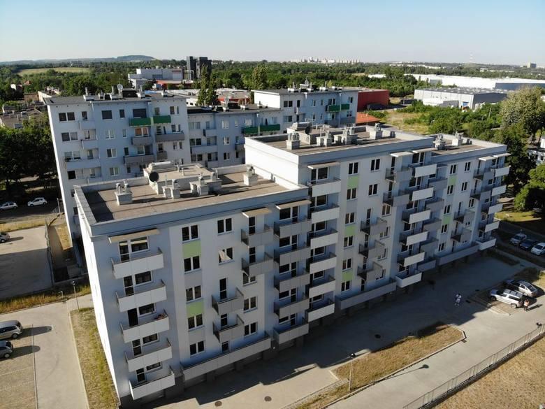 Sosnowiec ul. Baczyńskiego