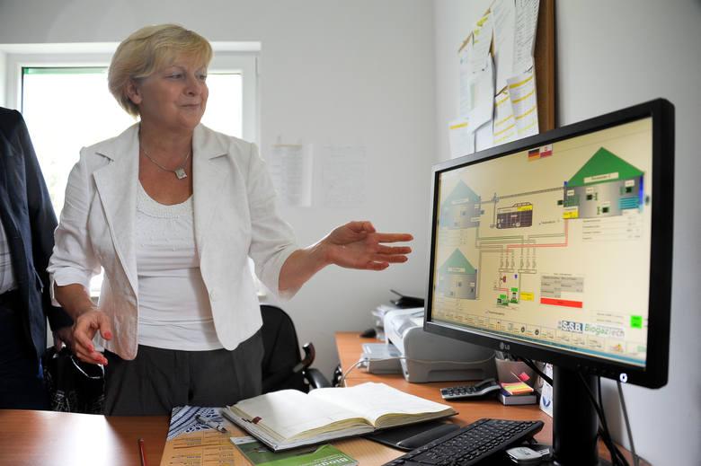 Rękę na pulsie biogazowni trzyma jej kierowniczka Helena Paszko