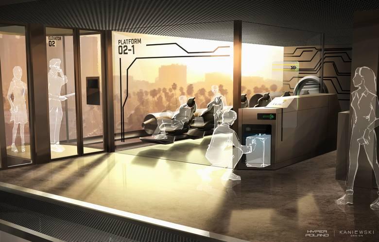 Jednak będziemy w Polsce podróżować pociągiem ponad 300 km/h. Polska próżniowa kolej magnetyczna - rusza polski Hyperloop