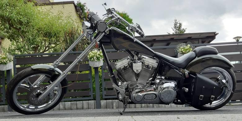 Kategoria: Motocykl RokuHarley Davidson DESPERADO Pale Rider, 2004 r., Robert Zaczyk, Nowy Sącz- Prawdziwy amerykański smok mierzący ponad 2,5 metra