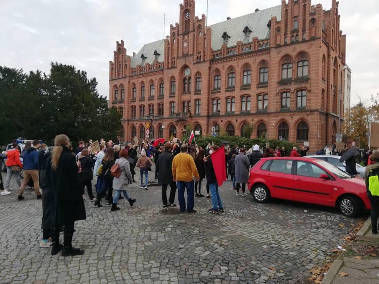 Protesty odbywają się w całej Polsce