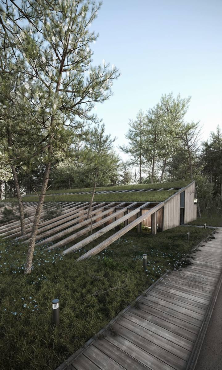 W Łebie nie będzie hotelu Gołębiewski, ale mogłoby powstać Centrum Zdrowia Psychicznego i Medytacji. Projekt już jest