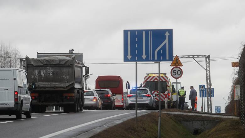 W wypadku w Kraczkowej został ranny kierowca.