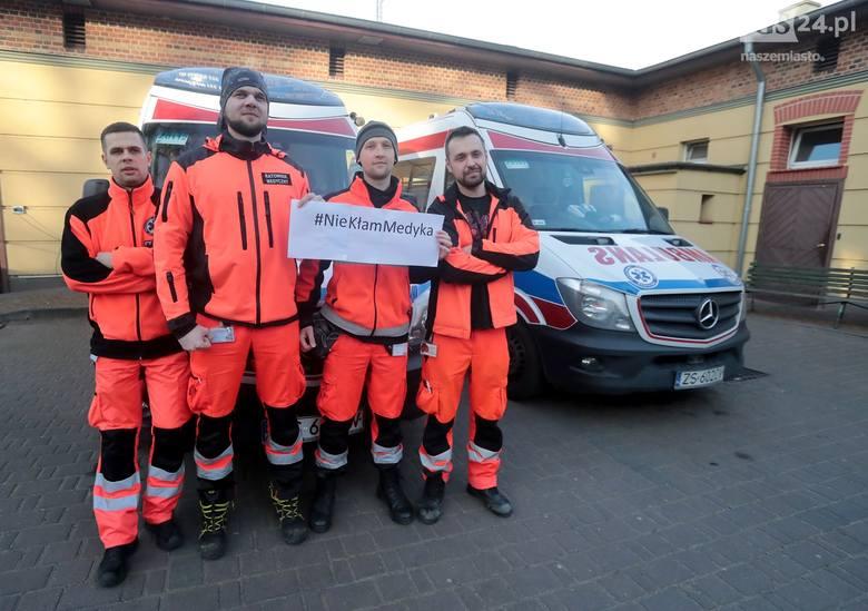 Koronawirus w Szczecinie. Bądź odpowiedzialny i #NieKłamMedyka! Kilkunastu ratowników poddanych kwarantannie