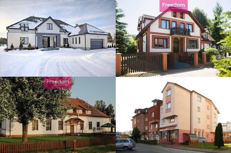 Sprawdziliśmy jak duże domy można kupić w naszym województwie. Niektóre są po prostu olbrzymie, podobnie jak ich ceny. Domy o powierzchni większej niż