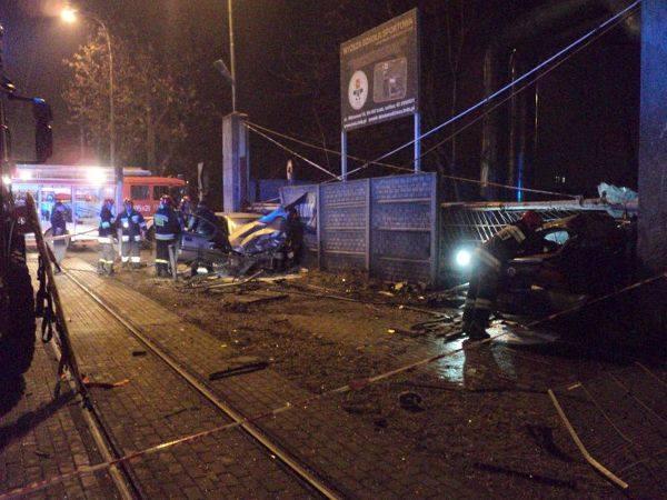 Wypadek Kilińskiego/Tymienieckiego. Uciekające bmw miało rejestrację z Małopolski