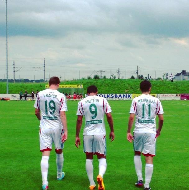 Piłkarze Tereka wychodzą na sparing ze Śląskiem