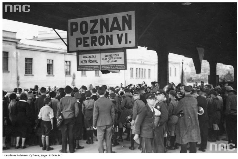 Dworzec kolejowy - 1936 rok