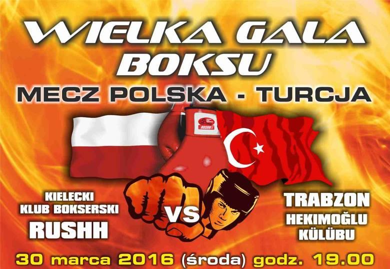 30 marca w Kielcach wielki mecz bokserski. Mamy dla Państwa 50 biletów!