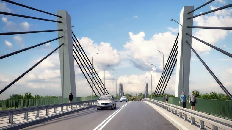 Tak ma wyglądać nowy most nad Wartą w Kostrzynie.