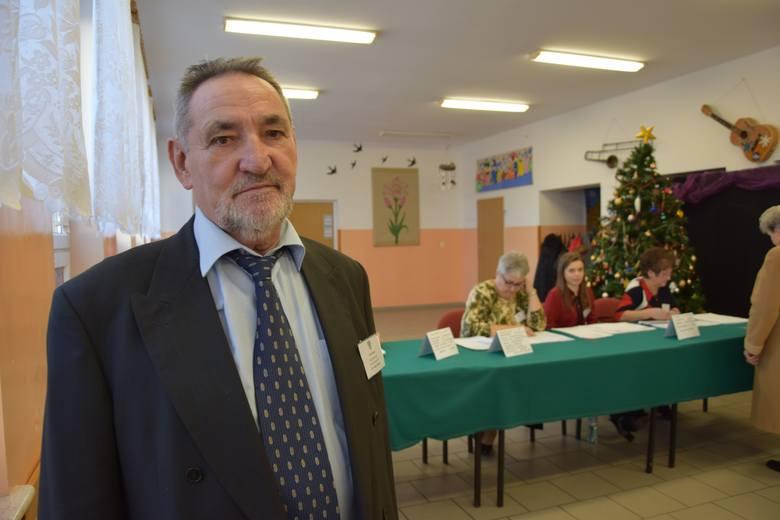 Marceli Jaroszek, przewodniczący komisji nr 2