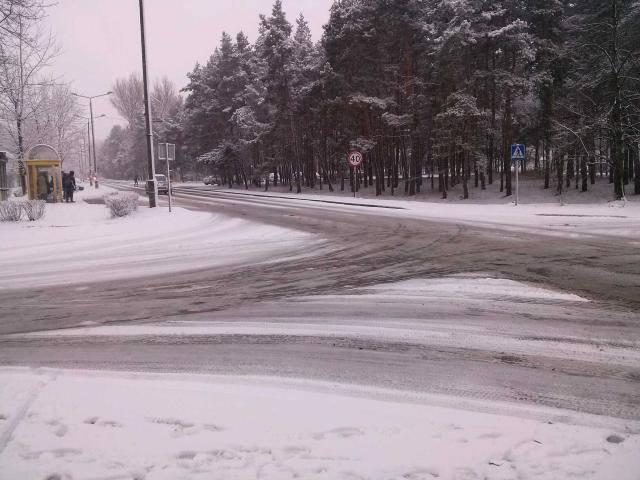 Zima wróciła do Olkusza [ZDJĘCIA]