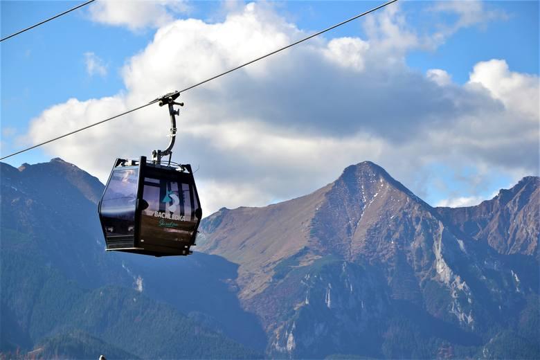 A to już słowacka Bachledowa Dolina. Tak wygląda kolejka górska.