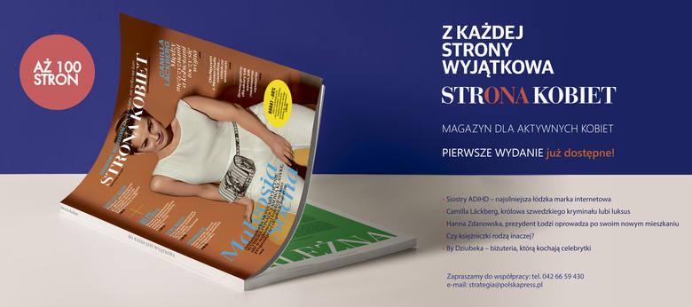 """Nowy luksusowy, bezpłatny magazyn """"Strona Kobiet"""" jest już na rynku!"""