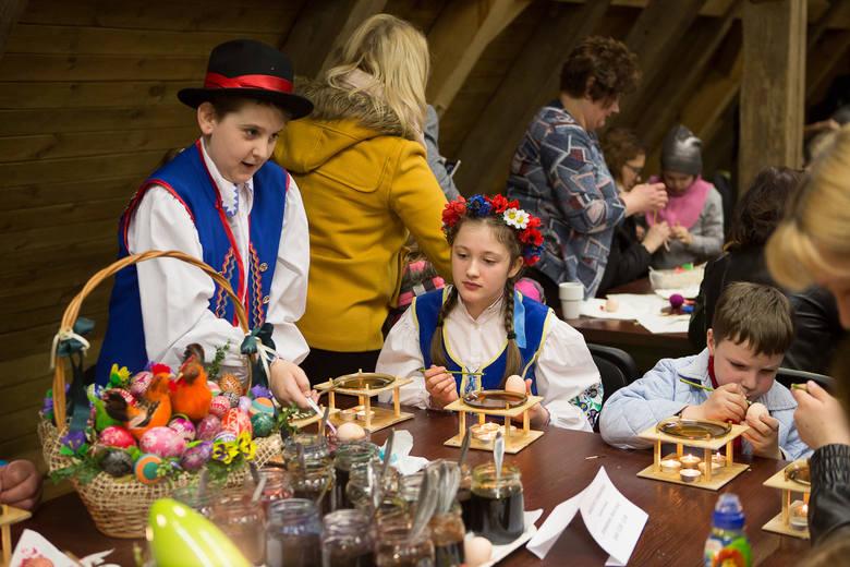 Przedświąteczna niedziela jak sprzed ponad stu lat. W niedzielę (25 marca) w Muzeum Kultury Ludowej Pomorza w Swołowie mogliśmy poznać tradycje i zwyczaje