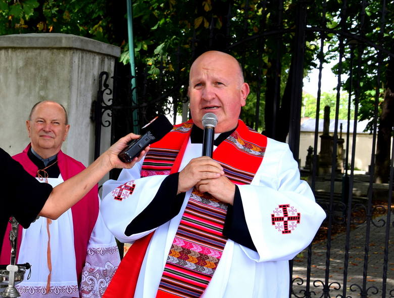 Oficjalne otwarcie Skweru Błogosławionego ks. Jerzego Popiełuszki w Skierniewicach [ZDJĘCIA]