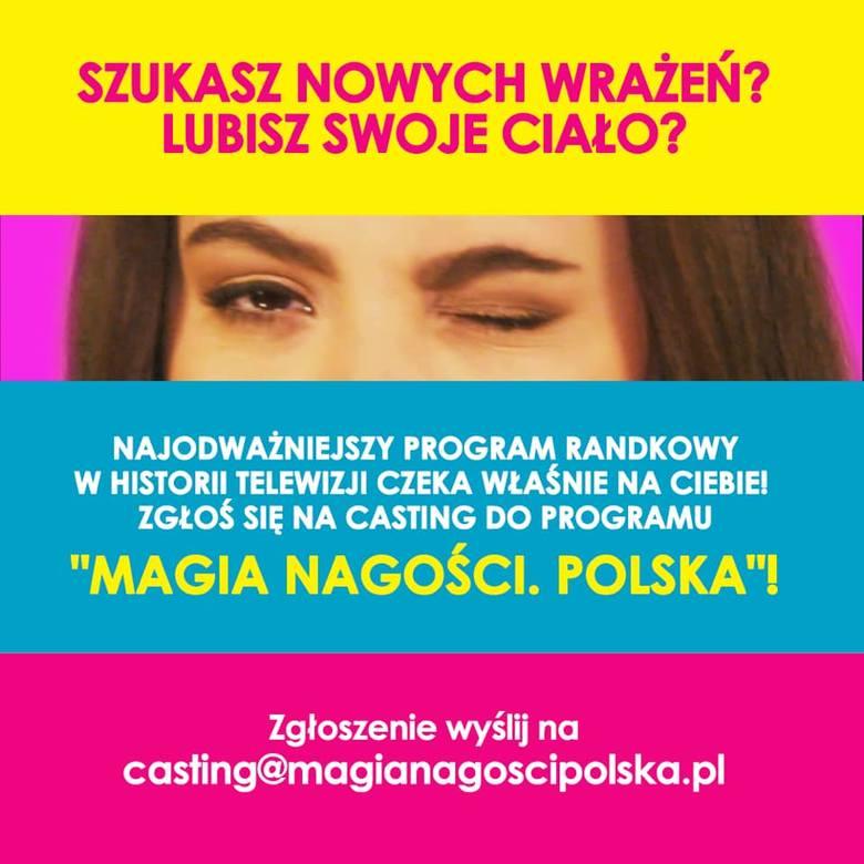 """Ruszają castingi do programu """"Magia nagości. Polska"""". Kto może zgłosić swoją kandydaturę? Oto najważniejsze informacje! Tego nie możesz przegapić &a"""