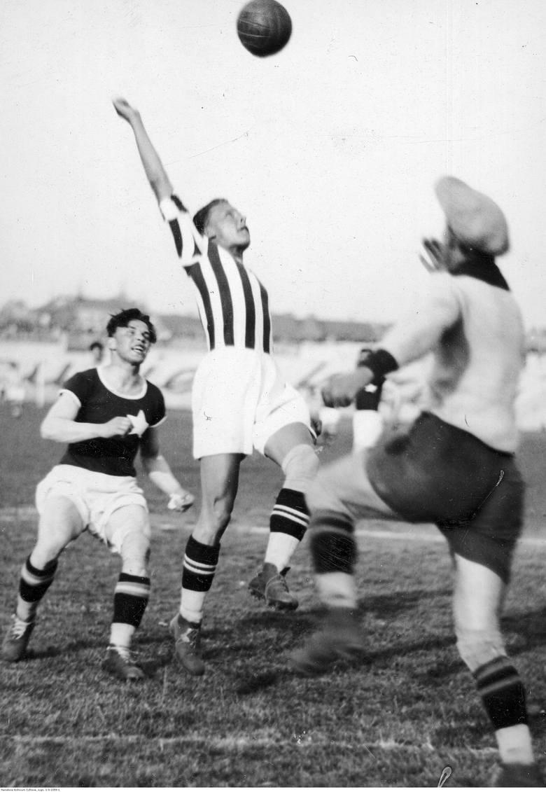 Mecz Cracovia - Wisła w 1931 roku