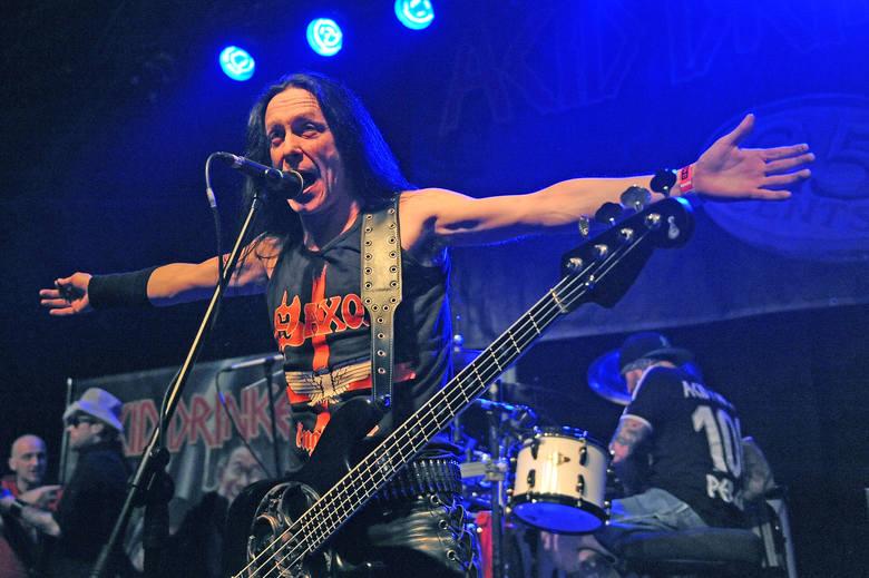 Koncert Acid Drinkers w Eskulapie - 20 marca 2015