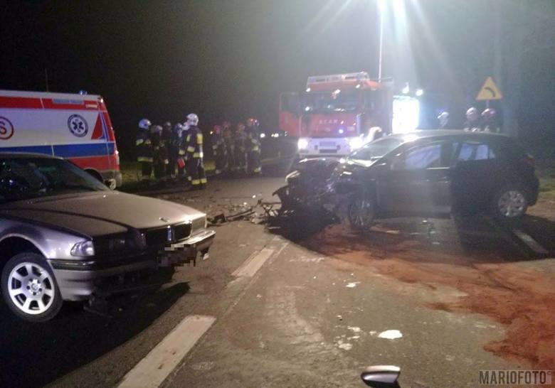 Wypadek w Żużeli. BMW zderzyło się z kią.