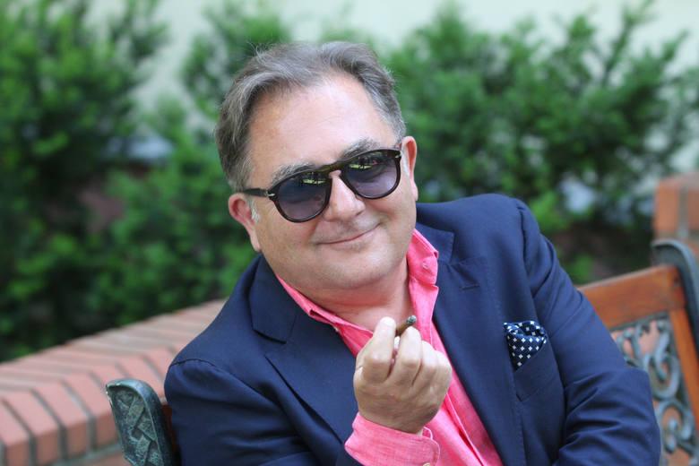 - Będę się zajmował wszystkim tym, co może być w miarę interesujące kiedy się nadaje z domu- mówi Robert Makłowicz.