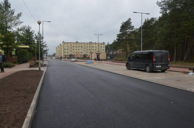 W Małkinia dobiega końca przebudowa ulicy Przedszkolnej