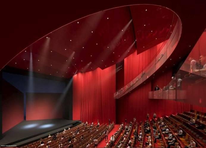Tak będzie wyglądała nowa siedziba poznańskiego Teatru Muzycznego. Przejdź dalej i zobacz kolejne wizualizacje --->