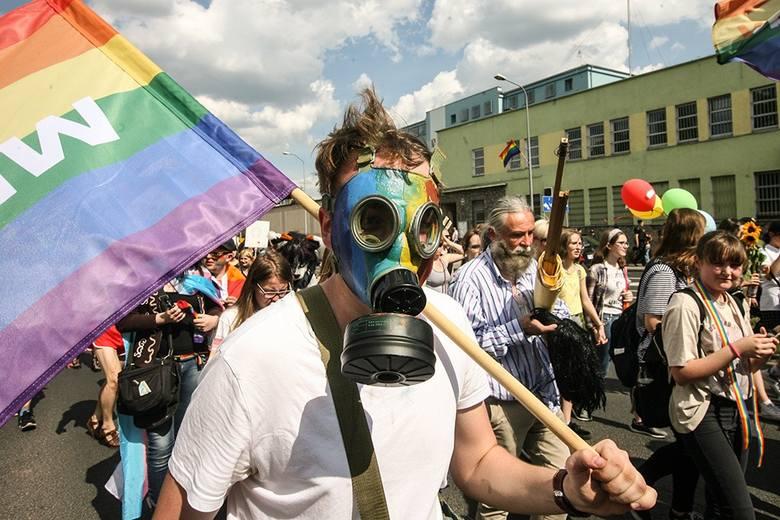 W sobotę (1 czerwca) odbył się II Marsz Równości w Zielonej Górze
