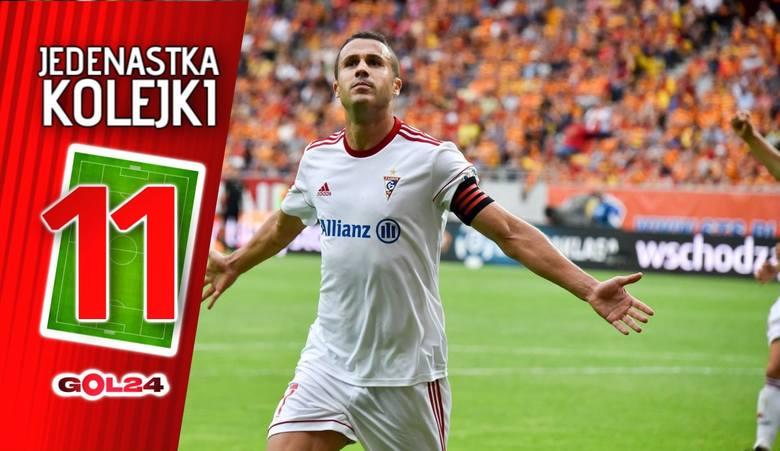 Jedenastka 3. kolejki Lotto Ekstraklasy według GOL24 [GALERIA]