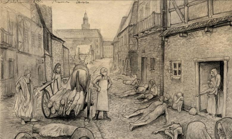 Największe epidemie w historii Opolszczyzny. Dżuma, tyfus, cholera. Choroby dziesiątkowaly całe miasta i wsie