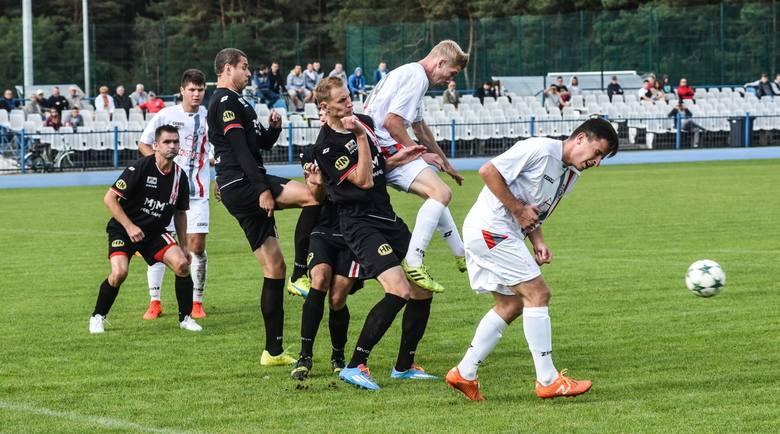 Derby Bydgoszczy w klasie okręgowej. Niespodziewanie to BKS pokonał Polonię 1:0.